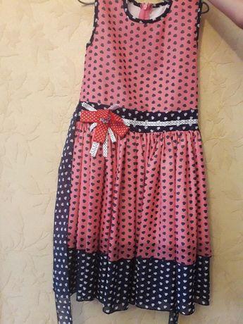 нарядное детское летнее платье