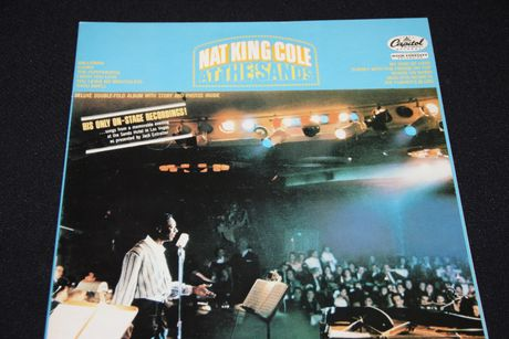 LP Nat King Cole - at the sands - Capitol Records 1966