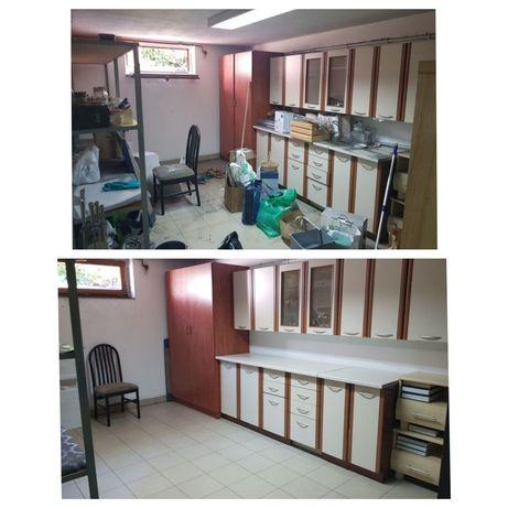 Sprzątanie domu,piwnicy,strychu,mycie okien.