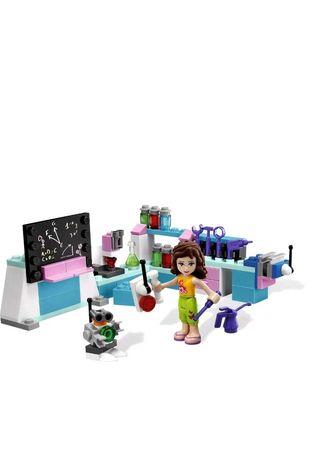 LEGO Friends Laboratorium Olivii 3933, jak nowy, KOMPLETNY