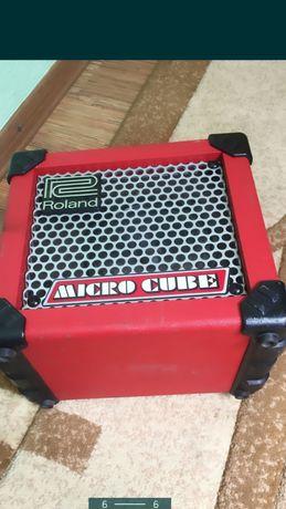 Скрипка, Roland micro cube ,мастеровая электро