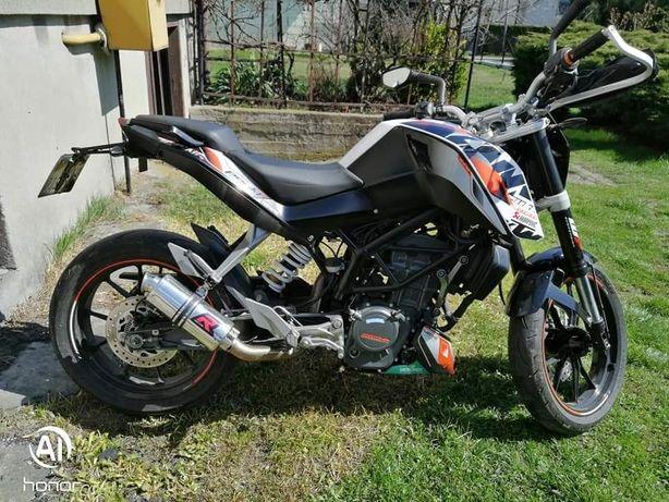 Motocykl KTM Duke