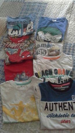 T-shirts de menino 6 anos