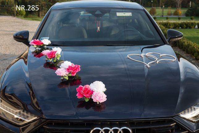 Piękna dekoracja na samochód w 3 kolorach-ozdoba na auto-przyssawki