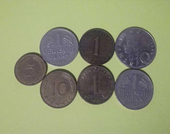 Stare monety niemieckie