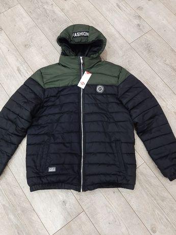 Куртка Lee Cooper стеганная демисезонная мужская p.XL - XXL