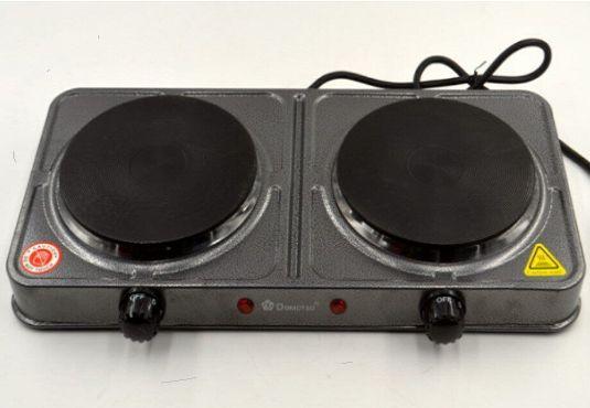 Електроплита дискова настільна (2 * 1000Вт )