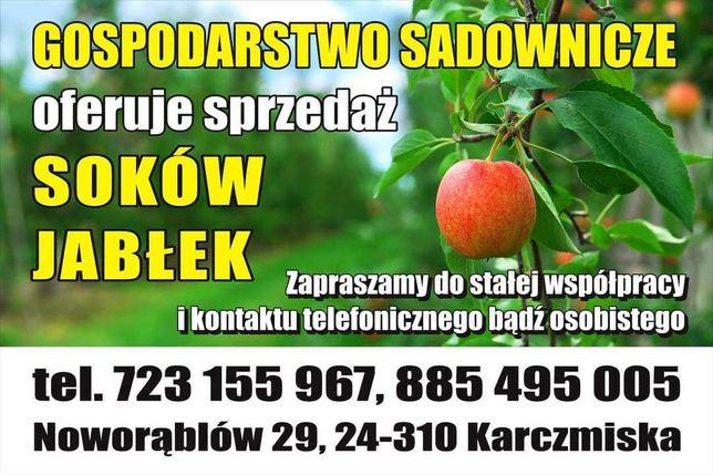 Sprzedam soki jabłkowe i Jabłka