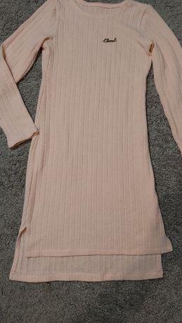 Платье с рукавом на девочку 8-9 лет