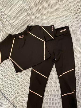Wyprzedaż! Ubranka sportowe dla dziewczynki (Zara, Decathlon) - zestaw