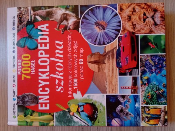 Encyklopedia szkolna 7000 haseł, informacje z różnych dziedzin