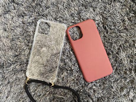 Iphone 11 pro etui bordowe/clearcase