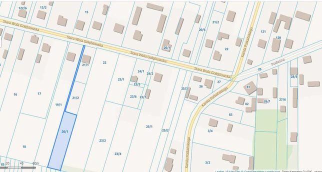 Działka bud. 1728 m2 w Radomiu, Stara Wola  blisko lasu, cena 115/m2
