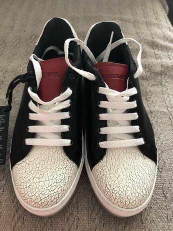 Teampki, sneakersy  Diesel r.37 nowe skora