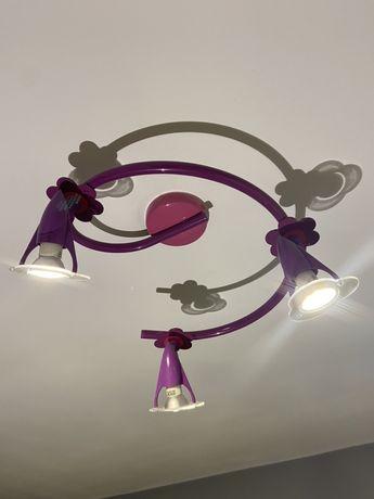 Lampa do pokoju dziewczynki