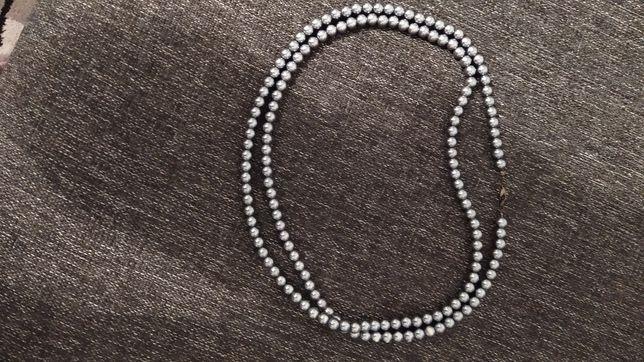 Korale naszyjnik perly