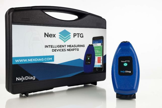 Miernik grubości lakieru samochodu NexPTG Professional (Walizka)