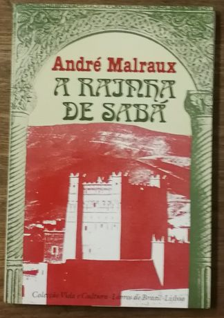 a rainha de sabá, andré malraux, livros do brasil