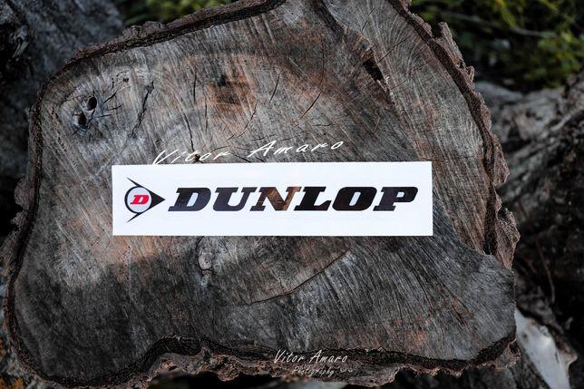 Autocolante para Mota ou Carro Dunlop Nº1 | NOVO