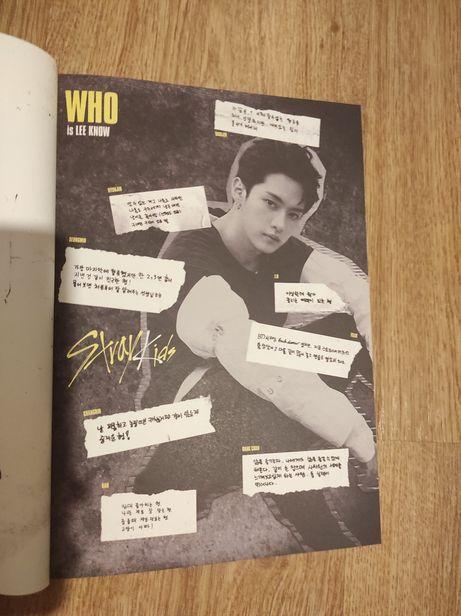 Kpop album Stray Kids i am who Lee Know Minho