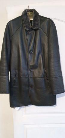 Продам кожаное пальто на меху