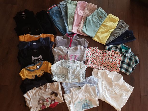 Zestaw ubrań dla dziewczynki r.128