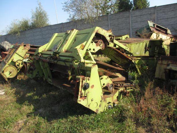 przystawka heder do kukurydzy na ziarno Claas 6 rzędów na części