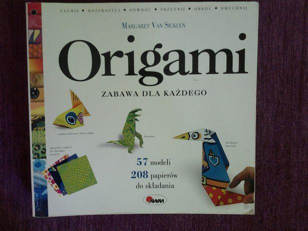 Origami zabawa dla każdego Margaret van Sicklen 57 modeli 208 papierów