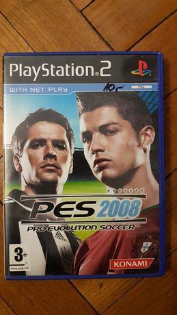 PES 2008. Gra na PS2