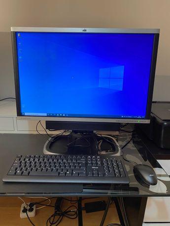 HP Elite 8300 i5-3470S–8 Go Ram–Disco SSD 500GB+Monitor HP LA2405x