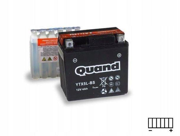 Akumulator motocyklowy 12V/4Ah Ytx5l-bs Quand
