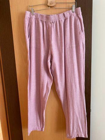 calças cortefiel XXL rosa velho novas