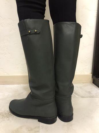 Демисезонные ботинки, кожа, ателье Kachorovska