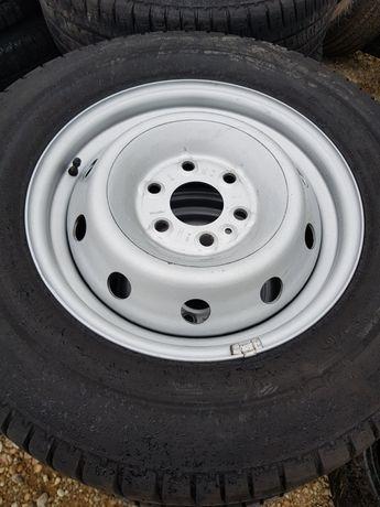 Felgi stalowe 16 cali Iveco nowy model 6x125.Jak nowe.Orginał!