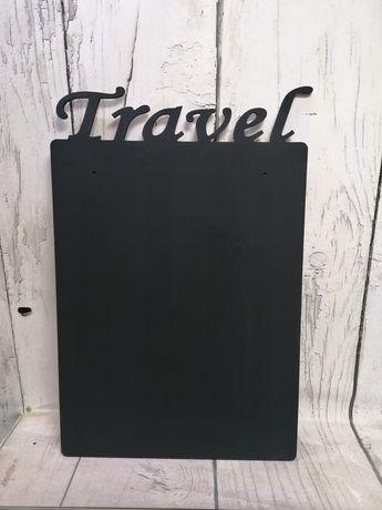 Tablica magnetyczna na pamiątki z wakacji magnesy 50x75