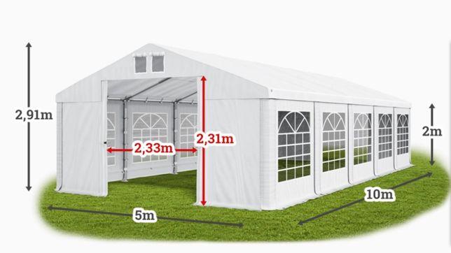 Шатер 5х10 ПВХ с мощным каркасом торговый павильон большой палатка