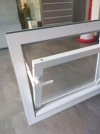 Okna inwentarskie GOSPODARCZE - okno z PCV - podwójna szyba
