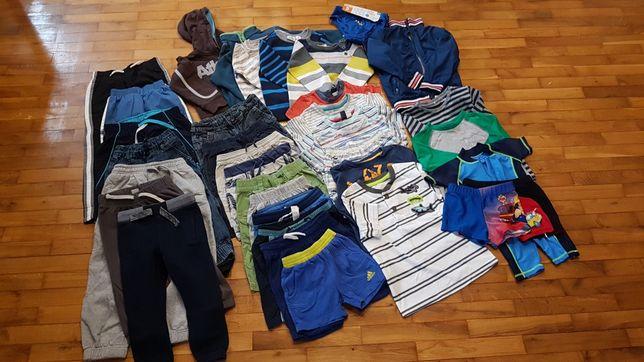 Ubrania chłopięce od 2 do 4 lat, tanio