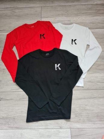 Koszulka Karl Lagerfeld Face damski longsleeve S M L XL 3 kolory