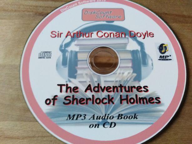 The Adventures of Sherlock Holmes, audiobook j. angielski, MP3