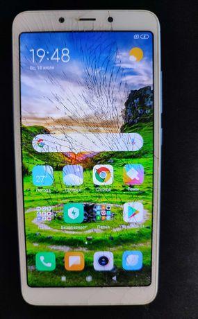 Xiaomi Redmi 6A дисплейный модуль с рамкой (экран + тач) ориг бу