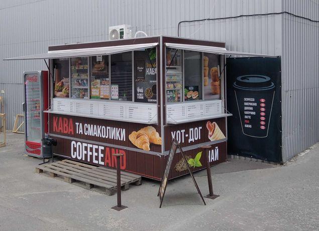 Продам кофейню в районе м. Бориспольская.