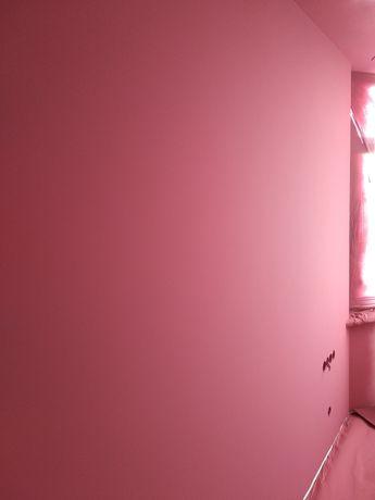 Механизированная покраска потолка и стен. Супер качество!