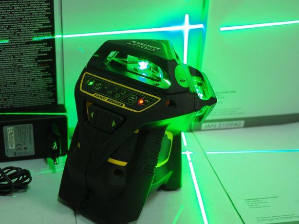 STANLEY FMHT-77356 laser 6 liniowy Zielony krzyzowy 360x3 Nowy