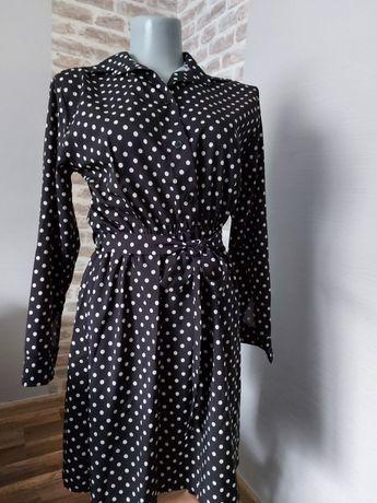 Nowa sukienka w groszki