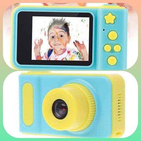 Дитячий цифровий фотоапарат фото камера Smart Kids Camera V7 Blue