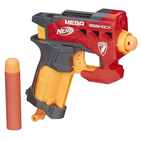 Детский пистолет от Nerf (Нерф) Mega Бластер Bigshock (бигшок) Hasbro
