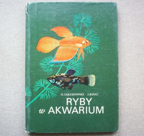 Ryby w akwarium, H. Jakubowski, J. Ring, 1974.