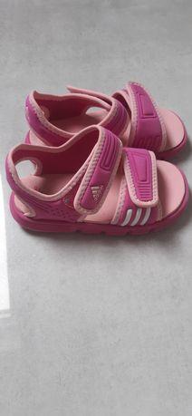 Sandałki piankowe Adidas rozmiar 24