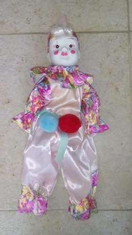 Boneco Porcelana Pierrot